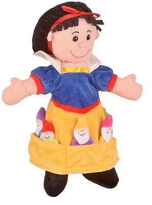 Fiesta Crafts Biancaneve E Sette Nani Puppet Set Giocattolo Nuovo