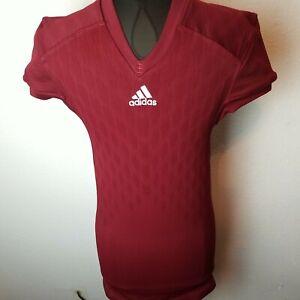 Adidas Techfit Primeknit Football Jersey M99583 size XL Burgundy ...