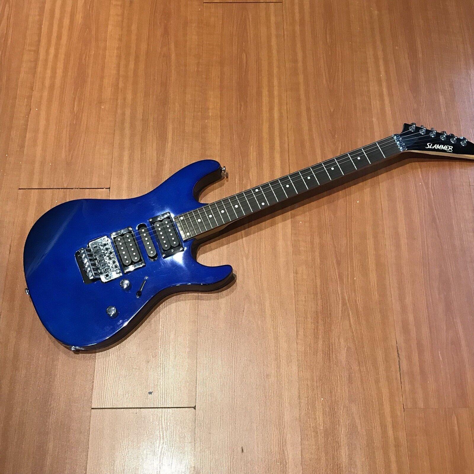 Hamer CT2/2 Cobalt Blau Electric Guitar