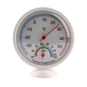 High Quality Indoor Outdoor Thermometer Hygrometer Temperature Meter New Mi Ni Trop Dur Ni Trop Mou