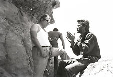 photo 10*15cm 4x6 INCH CLINT EASTWOOD ET SERGIO LEONE