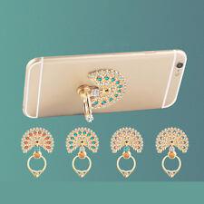 360 Degree Peacock Finger Ring Handy Smartphone Ständer für Telefon