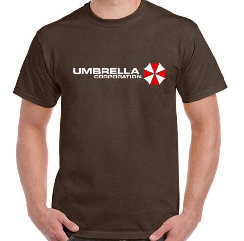 Umbrella Corporation Herren Resident Evil Inspiriert T-Shirt Zombie Killer Ps4