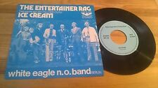 """7"""" Jazz White Eagle N.O. Band - Entertainer Rag (2 Song) PRIVATE PRESS"""