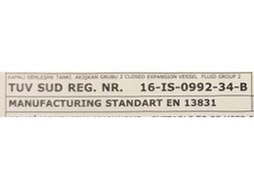 Membran-Ausdehnungsgefäss passend Viessmann Vitocal//Vitodens Ausgleichsbehälter