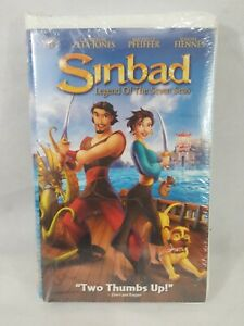 Sinbad Legend Of The Seven Seas VHS NEW! Clam Shell Case ...