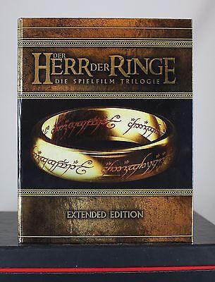 Der Herr der Ringe Die Spielfilm Trilogie Extended Edition (Bluray/BR) wie neu