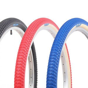 """BMX Tire from Vee 20 x 1.75/"""" Speedster Foldable Tyre S-Wall Red"""