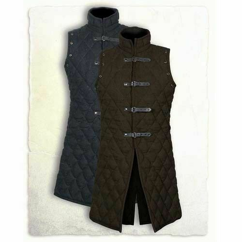 HALLOWEEN GIFT Thick padded Gambeson coat Aketon Medieval Jacket vest Armor