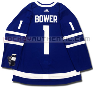 JOHNNY BOWER TORONTO MAPLE LEAFS HOME AUTHENTIC PRO ADIDAS NHL JERSEY