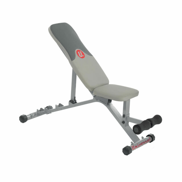 Universal Ub300 Adjustable Weight Lifting Bench Assembled For Sale Online Ebay