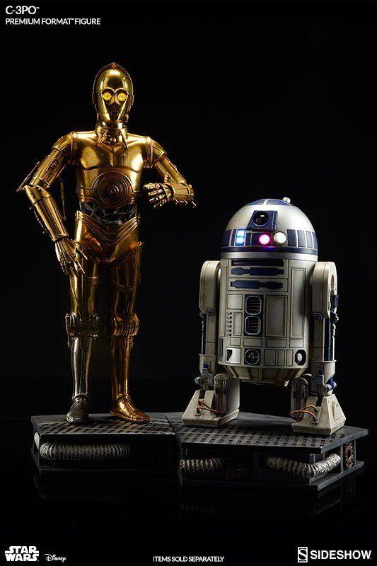 STAR WARS: C-3PO + R2-D2 PREMIUM FORMAT STATUE SIDESHOW