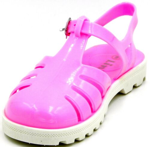 Kids Youth Summer Breathable Close Toe Jelly Beach Water Sand Sling Back Sandal