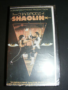 TWO-CHAMPIONS-OF-SHAOLIN-VHS-Movie-Kung-Fu-tracking-issues