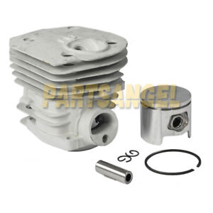 Details about New 44mm Cylinder Piston & Ring Kit for Husqvarna 350 346 351  353 Chainsaw Parts