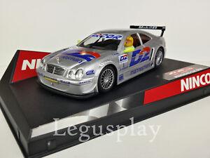 "SCX Scalextric Slot Ninco 50229 Mercedes CLK DTM ""D2 Nº1"" B. Scheneider"
