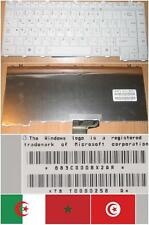 CLAVIER QWERTY ARABE TOSHIBA Satellite A200 A205 A210 A215 M200 G83C0008X2 Blanc