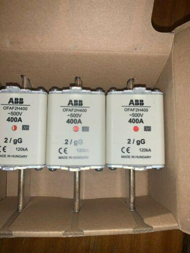 ABB OFAF2H400 HRC Fuse Link