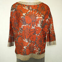 Berek Plus Size Floral Fantasy Stretch Crinkle Pleated Blouse Xxl (1x)