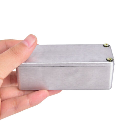 1590A Effects Pedal Aluminum Stomp Box Enclosure for Musical Instrument CasesPDH