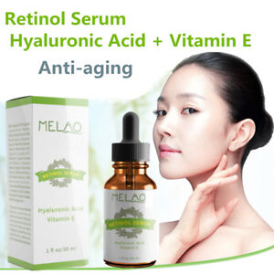 PURE RETINOL VITAMIN E 2.5% Anti Aging Wrinkle Acne Facial