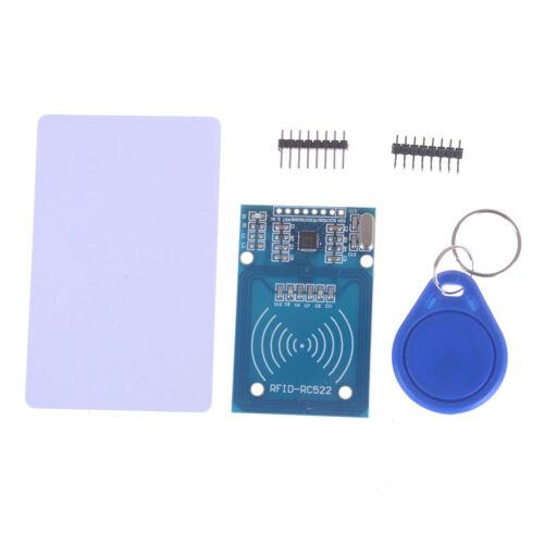 1Set MFRC-522 RFID IC Card Inductive Sensor Module S50 NFC Card Keyring Arduino`