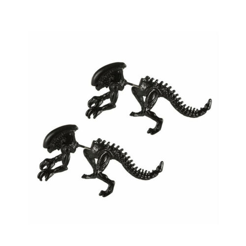 3D ALIENO orribile COPPIA Orecchino Orecchio a Bottone Lobo Dell/'Orecchio Piercing Film ALIEN Amphipod