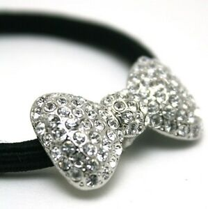 Image is loading SWAROVSKI-CRYSTAL-PonyHolder-HAIR-ACCESSORIES-Hair-ties -ribbon- 40a95e9a085