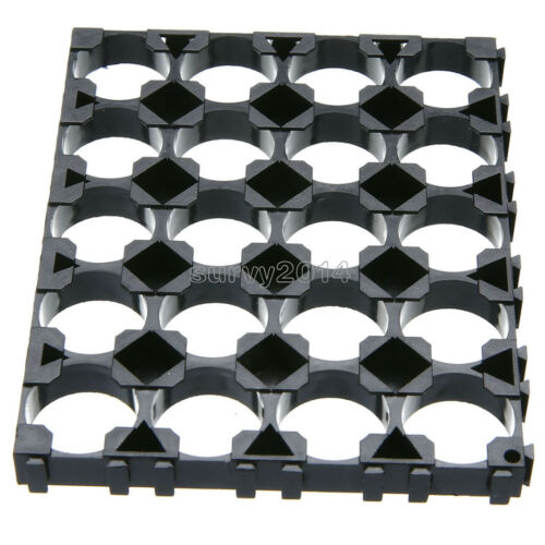 1Pcs 18650 Battery 4x5 Cell Spacer Radiating Shell Pack Plastic Heat Holder New