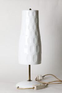 Lamps Decorative Arts Selb Lámpara De Mesa Con Pantalla Porcelana 2493/w With The Best Service Adaptable Hutschenreuther Kunstabt