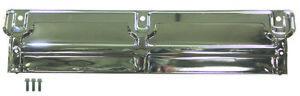 """Chrome Radiator Support Panel Chevelle 68-73 & Nova 68-79 24"""" x 5-1/4"""" GM#360633"""