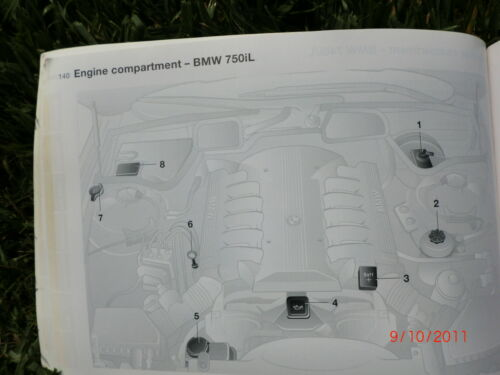 BMW E38 ORIGINAL OWNER OWNER/'S MANUAL BOOK 740iL 740i 740 750iL 750 1999-2001