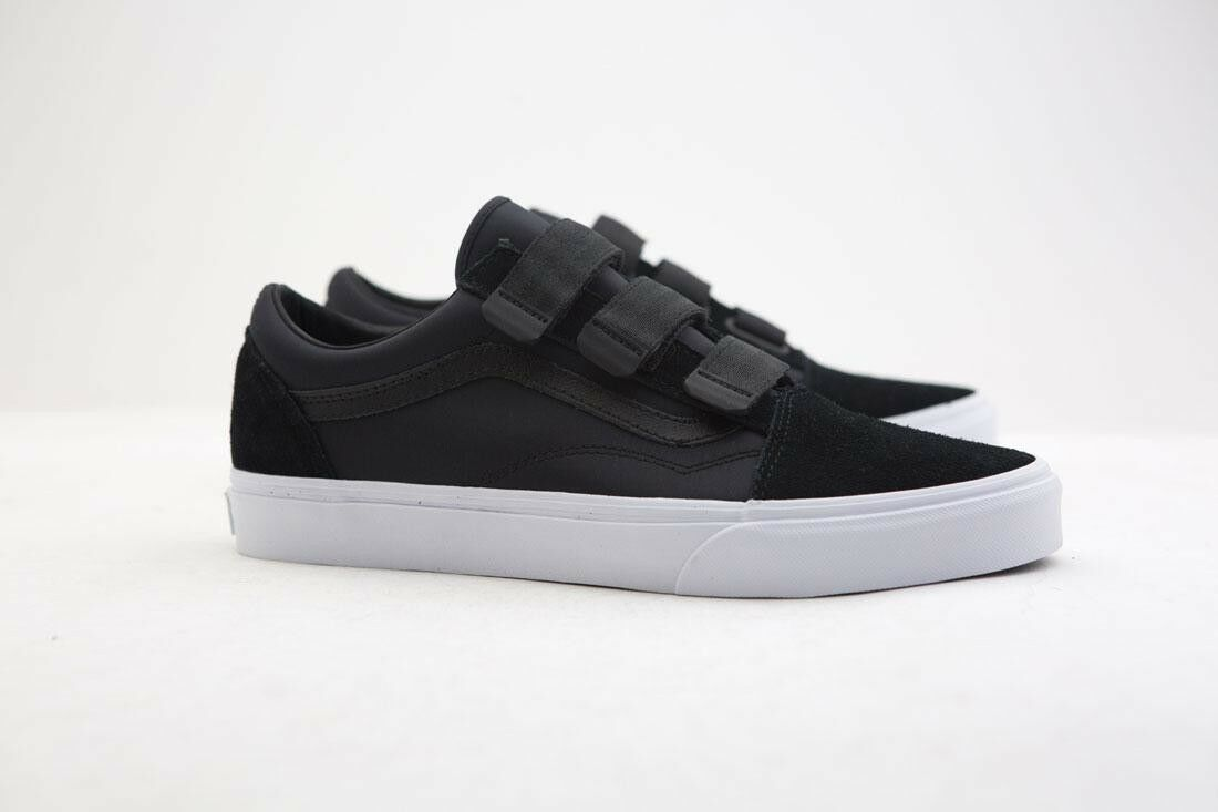 VN0D29QE6 Vans Men Old Skool V - Surplus Nylon schwarz