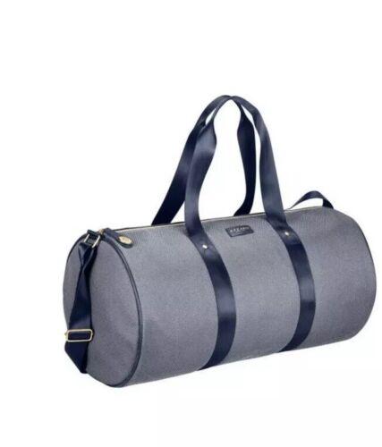 Azzaro Parfum Gym Bag Cylinder// Weekend// Travel// Duffel Bag