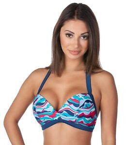 311d122c5a165 Image is loading Panache-Tilly-Wirefree-Halter-Triangle-Bikini-Swimsuit-Swim -