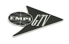 "VW Bug, Beetle Die Cast ""EMPI GTV"" Logos  Emblem,  Each   6456"