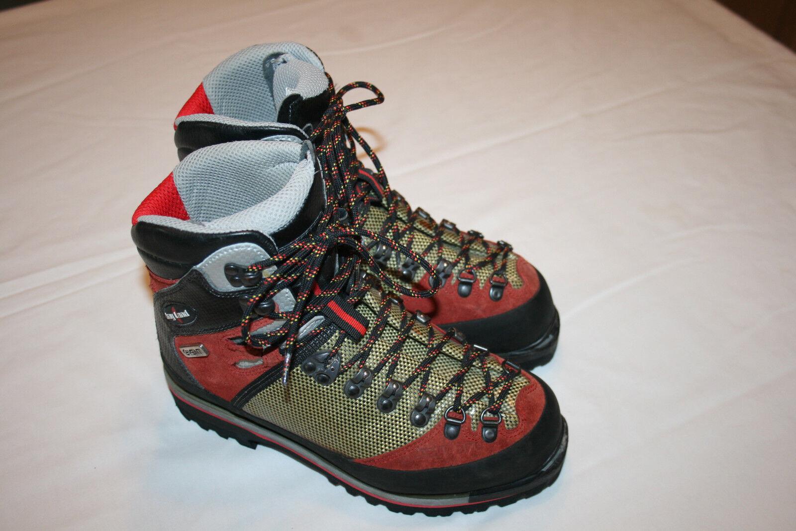 Kayland Super Ice Climbing Stiefel Primaloft 200 G M sz 6 W sz 7.5 EUC Italien