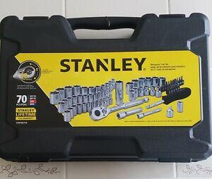 STANLEY STMT80759 70-PIECE MECHANICS TOOL SET NEW