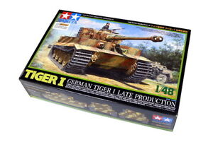 Tamiya-Military-Model-1-48-German-TIGER-I-Late-Production-Scale-Hobby-32575