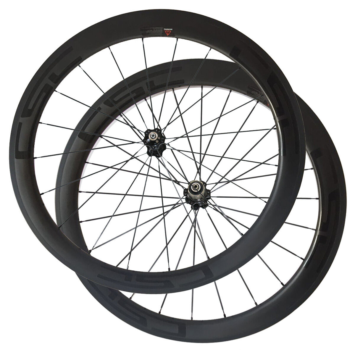 CSC carbon wheels 50mm Tubular carbon Bicycle road wheelset  23 25mm wide