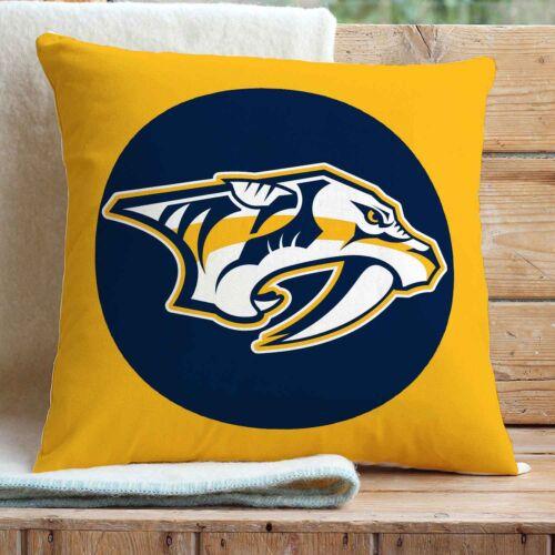 Nashville Predators Custom Pillows Car Sofa Bed Home Decor Cushion Pillow Case