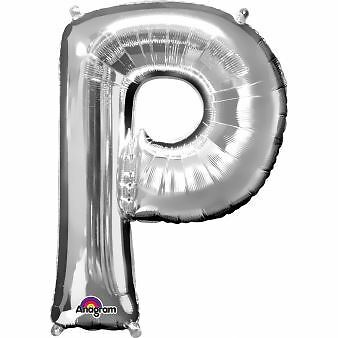 """Number 9 Silver Foil Balloon 16/"""" 40cm Air Fill Age Name Birthday Anniversary"""