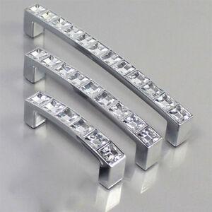 modisch diamant strass k chenschrank schublade t re griff schrank griff kaki ebay. Black Bedroom Furniture Sets. Home Design Ideas