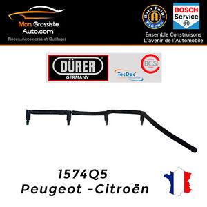 Kit rampe de retour injecteurs 1.6 HDI Peugeot Citroen DURER OE : 1574Q5