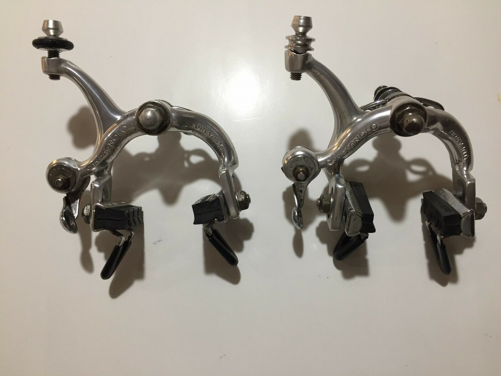 Campagnolo Record Brake Calipers. 80s Vintage Single Pivot