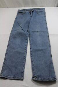Hellblau Sehr Texas W32 Gut Wrangler Jeans Stretch J8136 L30 YPATqY4