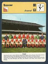 SPORTSCASTER-1977-EDITIONS RENCONTRE-ARSENAL TEAM PHOTO