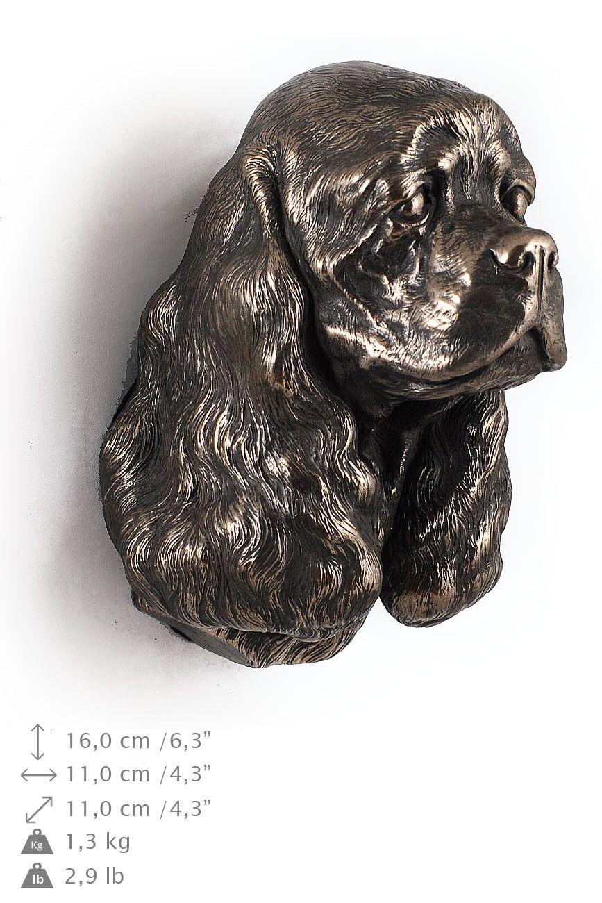 Cocker Spaniel - dog figurine to hang on the wall, high quality, Art Dog