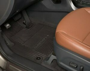 Oem 2013 2019 Hyundai Santa Fe All Weather Floor Mats 1st
