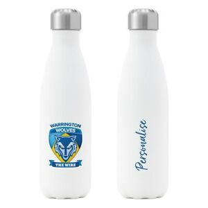 Warrington-Wolves-Personalised-Insulated-Water-Bottle-CREST